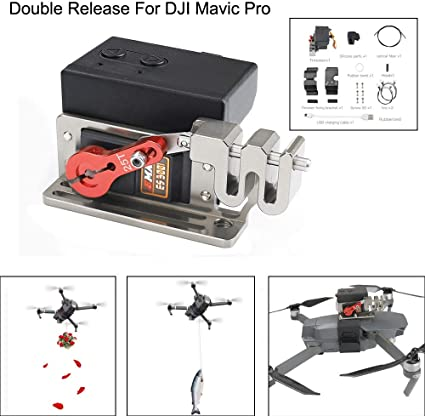 Drone Payload Release & Drop Kits