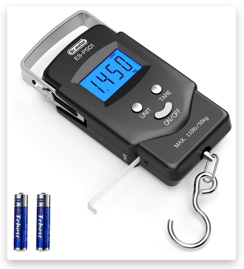 Dr.meter Backlit LCD Show Fishing Scale