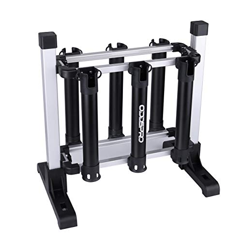 ODDSPRO Fishing Pole Rack, Portable Fishing Rod Storage Space Shelf - Fishing Rod Owner for All Sorts Of Fishing Rod and Reel Combos