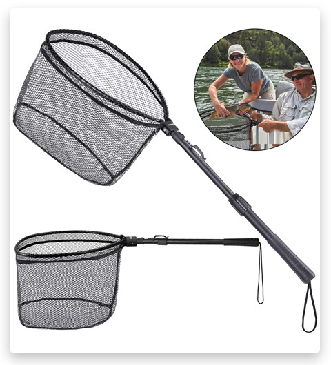 ODDSPRO Foldable Fish Touchdown Net