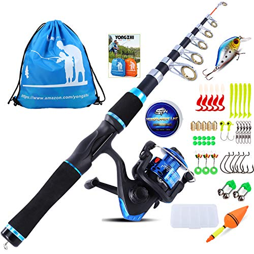 YONGZHI Children Fishing Pole with Spinning Reels