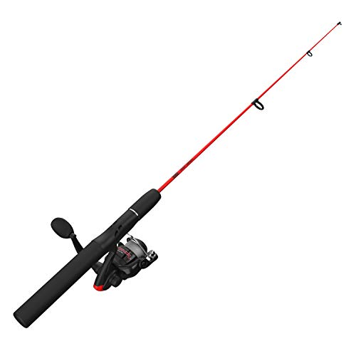 Zebco Dock Devil Spinning Reel and Fishing Pole Combo.