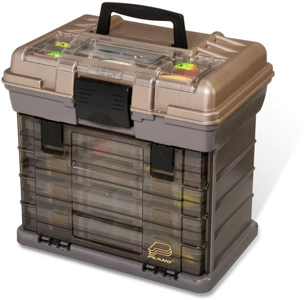 Plano 1374 4-By Shelf System 3700 Size Tackle Box