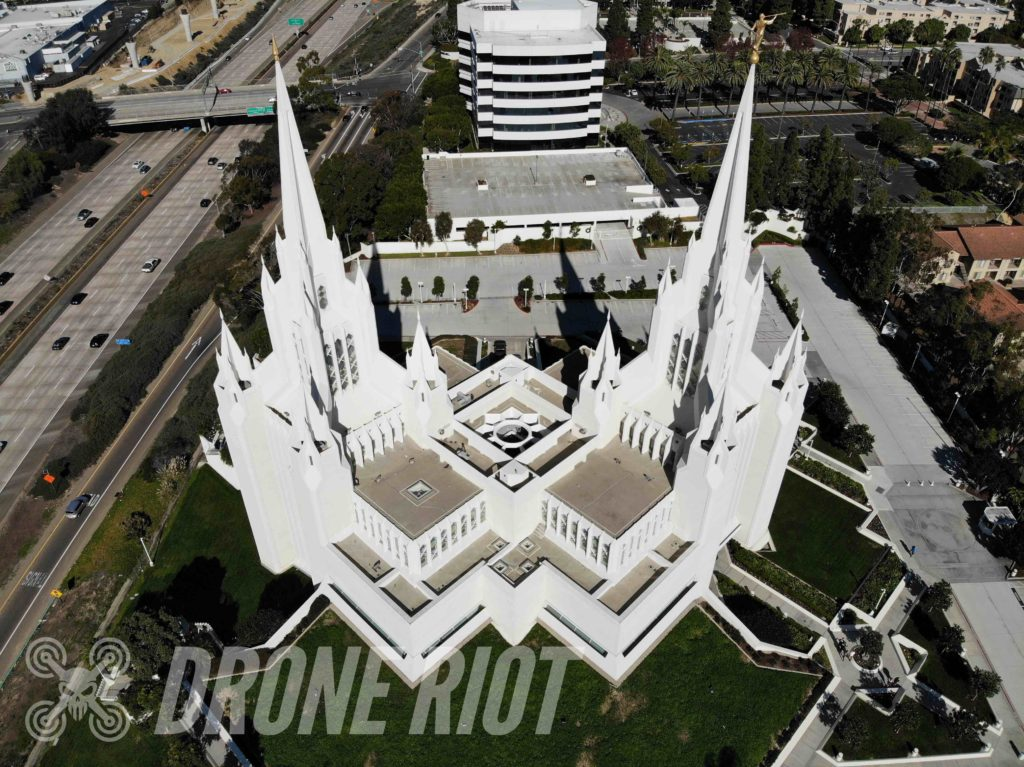 Church Drone Picture.